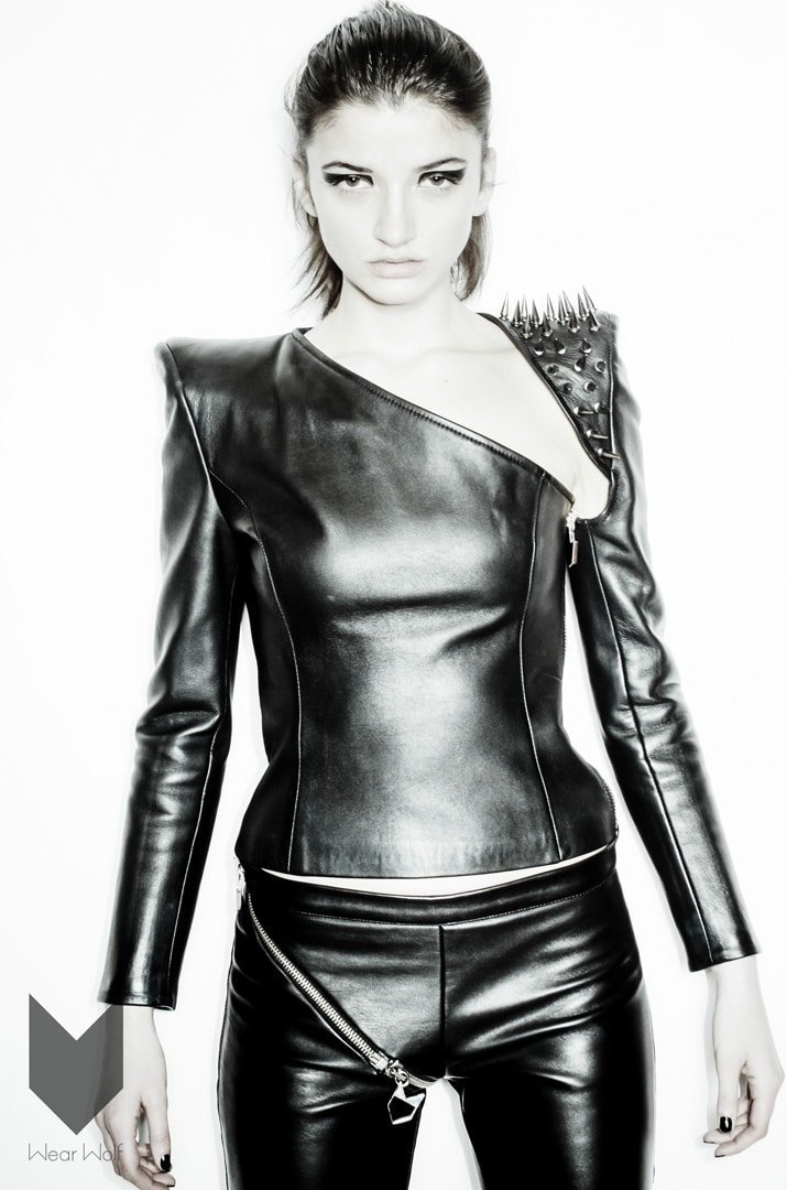First rock chic leather jackets - Wear Wolf Fashion